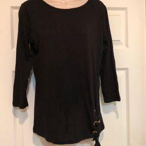 New Michael Kors Black T-shirt Size M